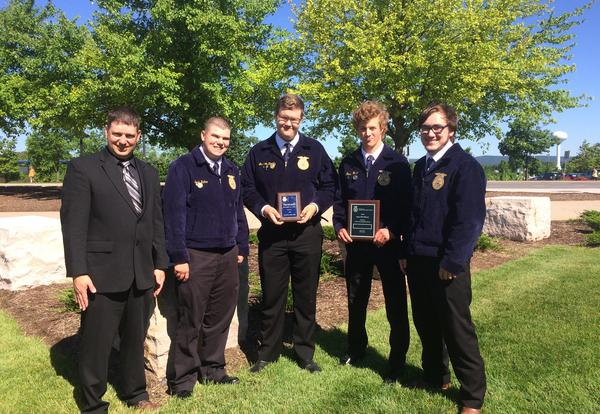 2018 State FFA Convention Results!