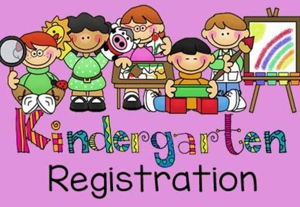 Kindergarten Registration is on April 11th & 12th!