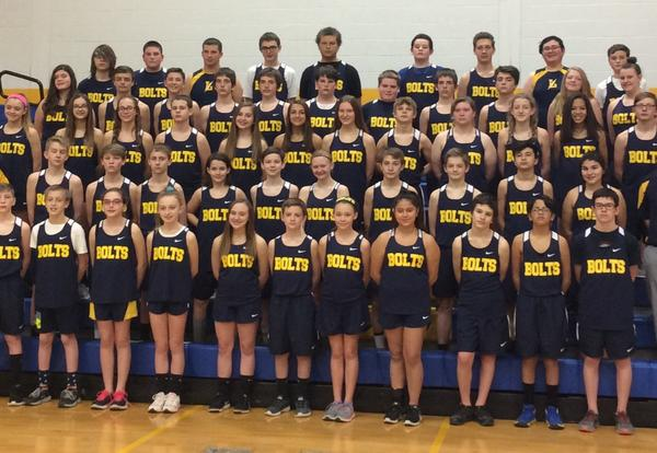 Our First Junior High Track Team! WOW!!!