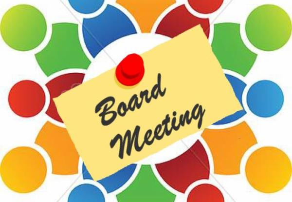 Notification of Board Meetings on May 20, 2019