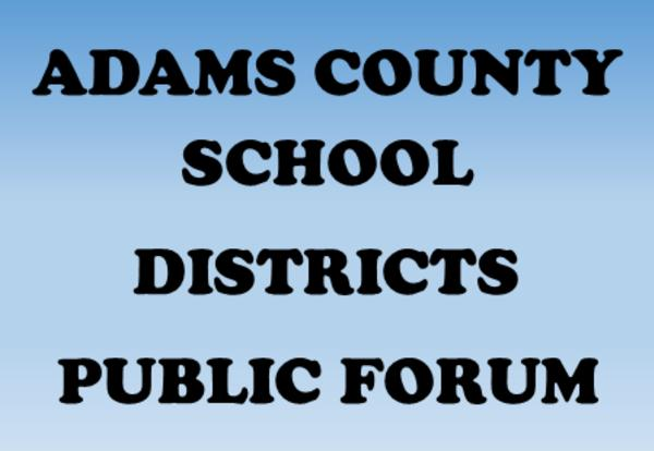 Adams County Cyber-Charter School Public Forum will be held on May 9th from 7:00-8:30 PM at Gettysburg Area Middle School