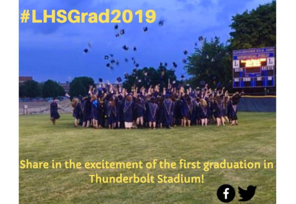 SHARE IN THE EXCITEMENT of the first Graduation in the Thunderbolt Stadium!