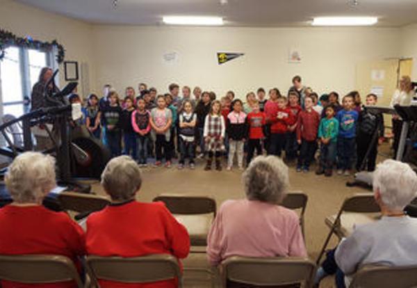 180 Days - Second Graders Carol for Seniors