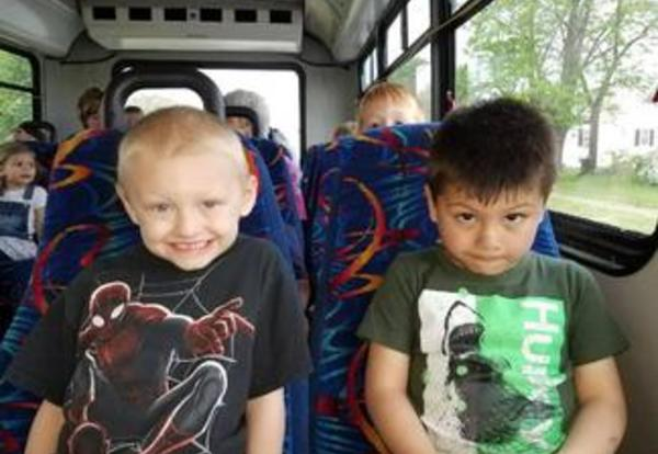 Preschoolers Ride the City Bus