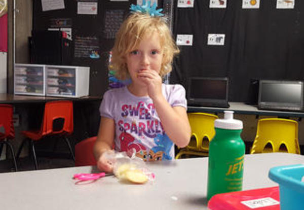 180 Days - Healthy Snacks Benefit Elementary Students