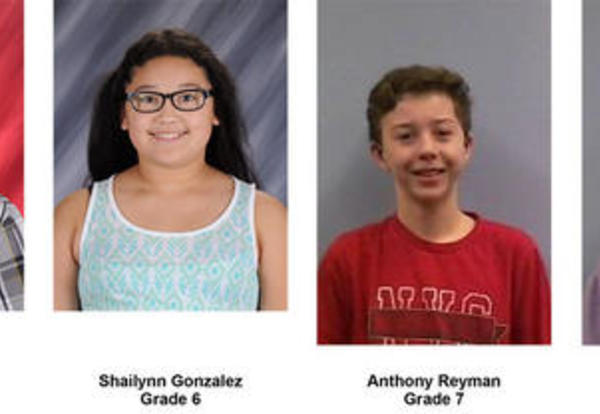 Students of the Week for November
