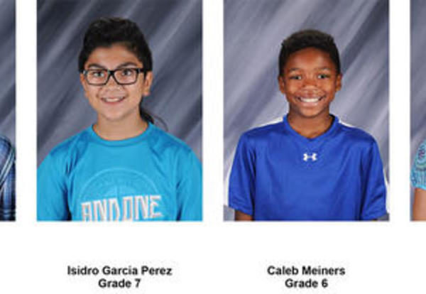 Students of the Week - January 2