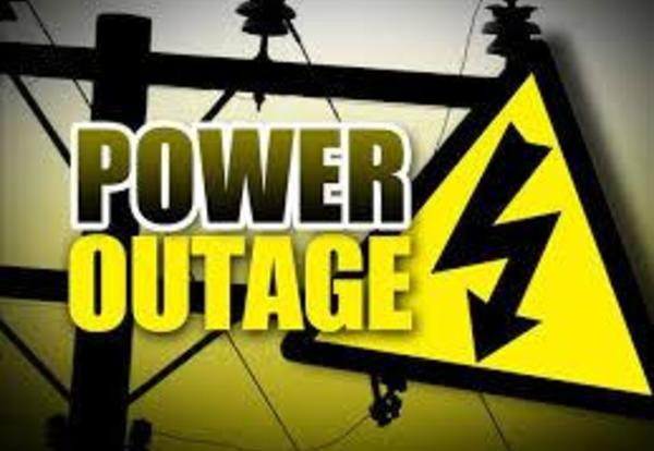 Power Outage Scheduled for Tuesday After School