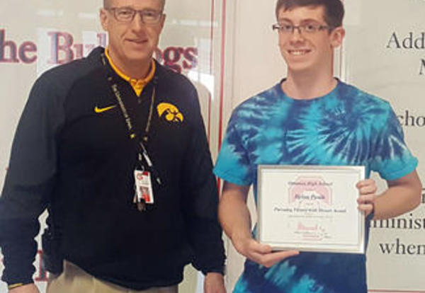 Paulk Receives Victory With Honor Award