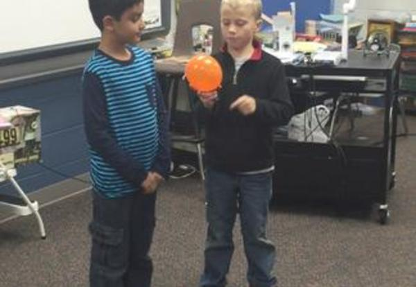 Students Learn About Seed Dispersal