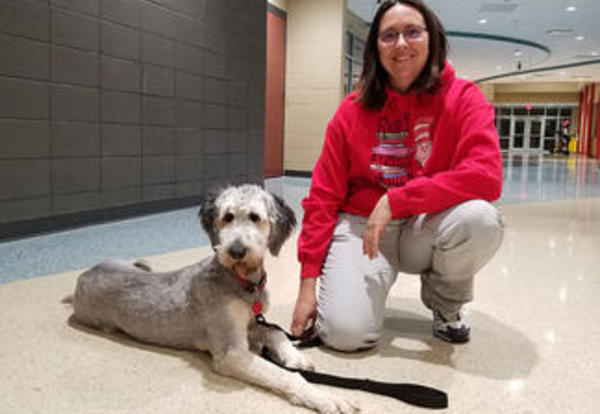 Therapy Dog Added to OHS