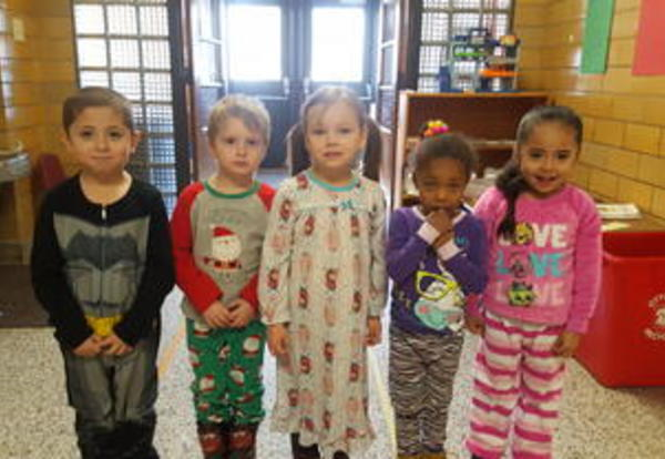 Preschool Wear PJs to Celebrate