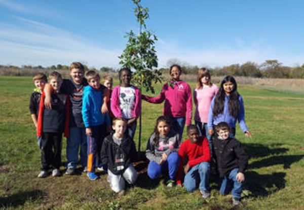 180 Days - Students Learn the Benefit of Trees