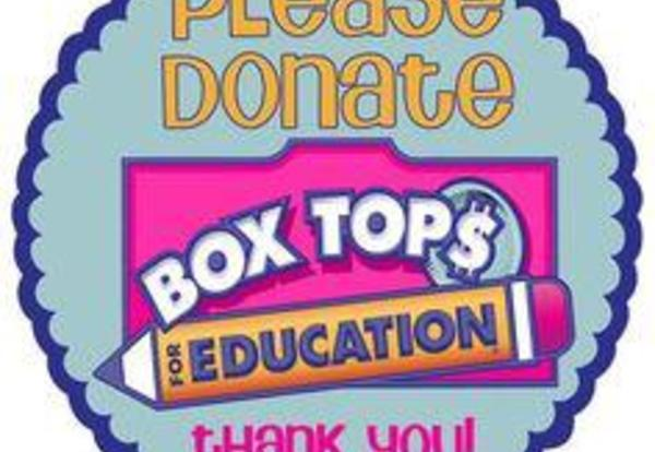 Thanks for the Box Tops of Education
