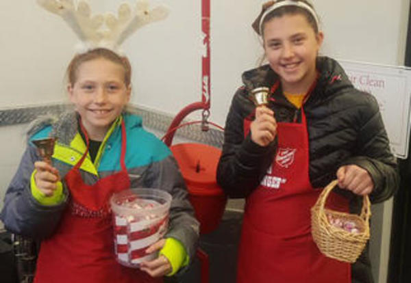 180 Days - Students Ring Bells for Charity