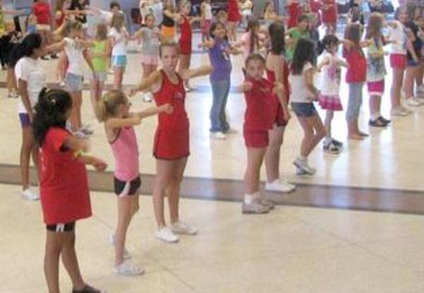 Little Cheer Clinic Performing in September