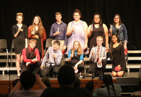 OHS Drama Honors Students