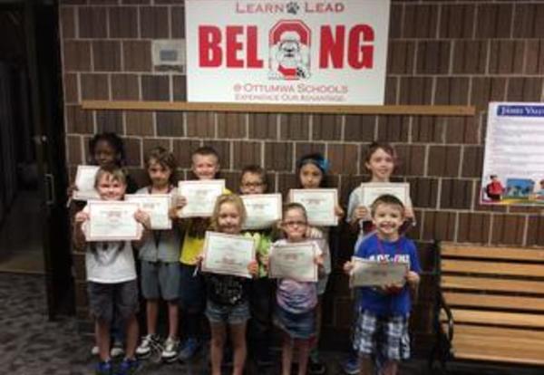 Bulldog Belief Award Winners