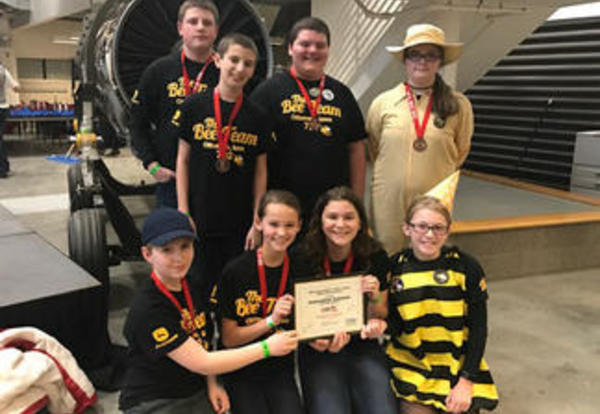 LEGO Teams Place Third