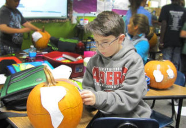 Pumpkins Geography Makes Learning Hands On