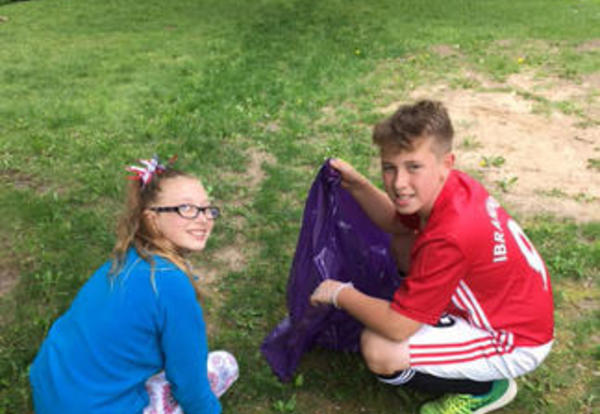 Fifth Graders Make Ottumwa Shine