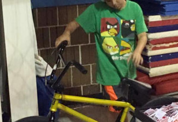 Student Wins a Bike