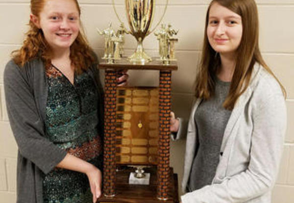 OHS Debaters Bring Home Trophy