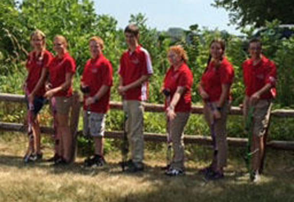 Archers Compete in Summer Games