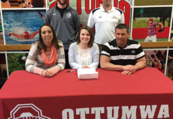 Cain Signs With Mt. Mercy