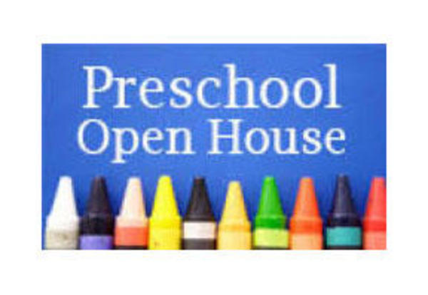 Preschool Open House on Thursday
