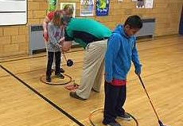 Golf Program Started in Elementary PE