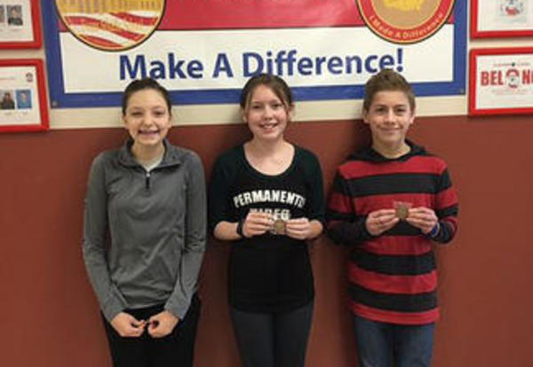 Students Earn Principal Coins