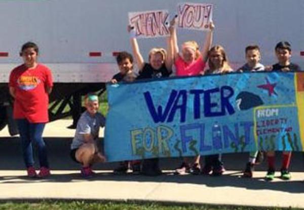 Water to Help Residents in Flint, MI