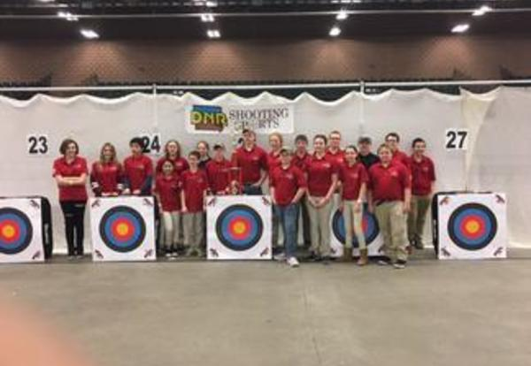 Archery Team Places at State
