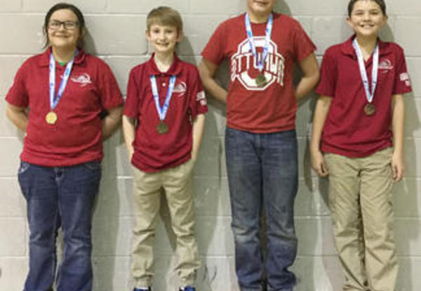 Archers Bring Home Four Medals