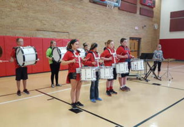 Drumline Places Third in Oktoberfest Competition