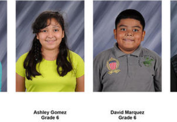 Students of the Week - March 27 and April 3