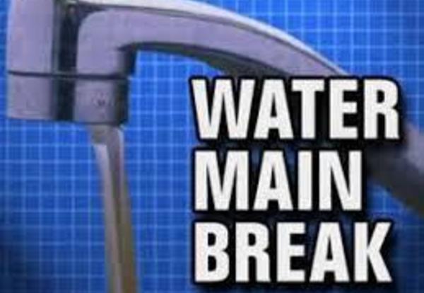Water Main Break Repaired