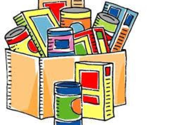 Clubs Partner to Host Food Drive
