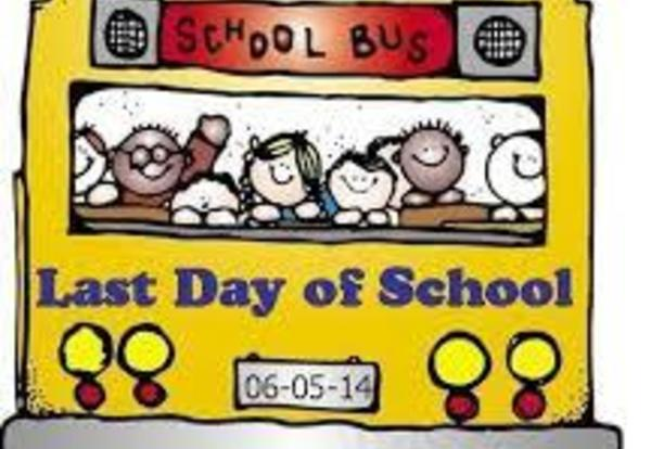 Dismissal Time on Last Day Changed