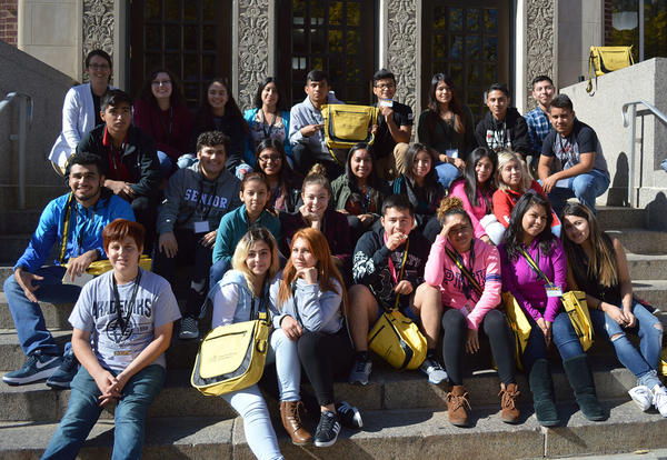 Students Attend Latino Conference