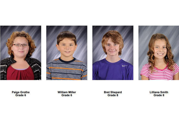 Students of the Week - Nov. 6
