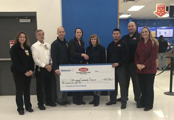 Walmart Donates to OCSD