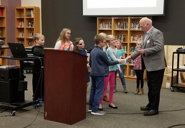 Students Donate to Red Cross