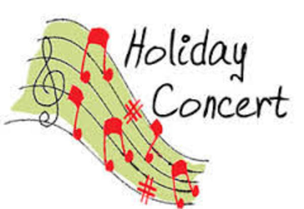 Holiday Band Concert on Sunday Afternoon