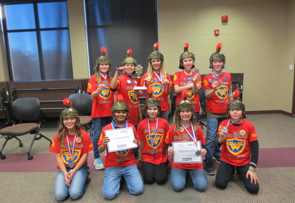 The Water Warriors LEGO League TAG team advances to State!