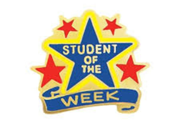 Students of the Week - November