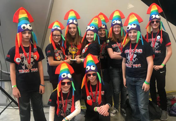 LEGO Teams Place at State