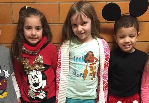 Kindergarten loves Disney Day