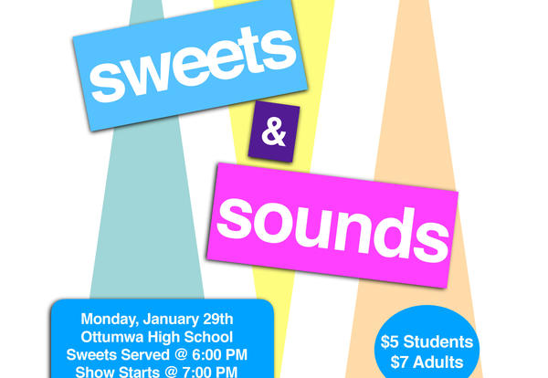 Sweets & Sounds is Tonight!